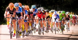 USA Pro Challenge Bike Race In Colorado Springs