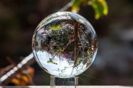 Crystal Ball Fish-eye